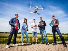 'Vliegende techniek' straks de toekomst in de Hoeksche Waard?