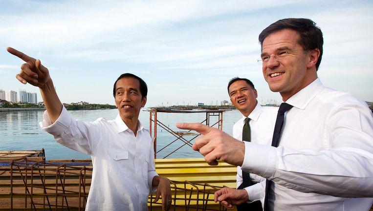 Premier brengt tijdens een bezoek aan Indonesië in 2013. Beeld anp