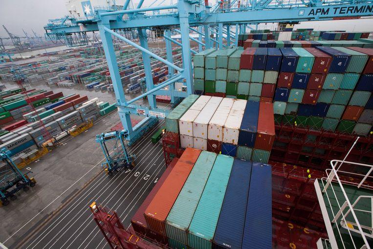 De haven van Zeebrugge blijft geliefkoosd terrein voor mensensmokkelaars.