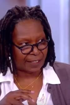 'Hysterische' Whoopi Goldberg ruziet met talkshowgast over Donald Trump