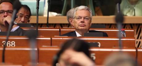 Didier Reynders ne sera pas secrétaire général du Conseil de l'Europe