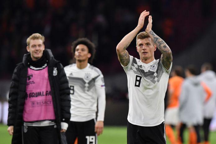 Toni Kroos et Manuel Neuer sont les deux seuls rescapés du titre mondial de 2014 dans la sélection allemande. Un manque d'expérience en vue pour l'Euro?
