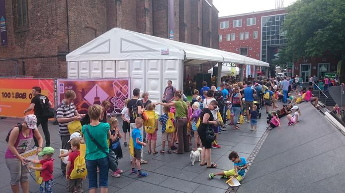 De kidsloop in Nijmegen.