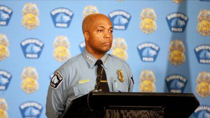Politiehoofd Minneapolis kondigt veranderingen aan na dood Floyd