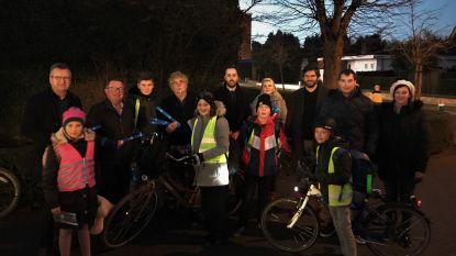 Open Vld zet fietsveiligheid in de kijker met actie bij Gistelse basisscholen