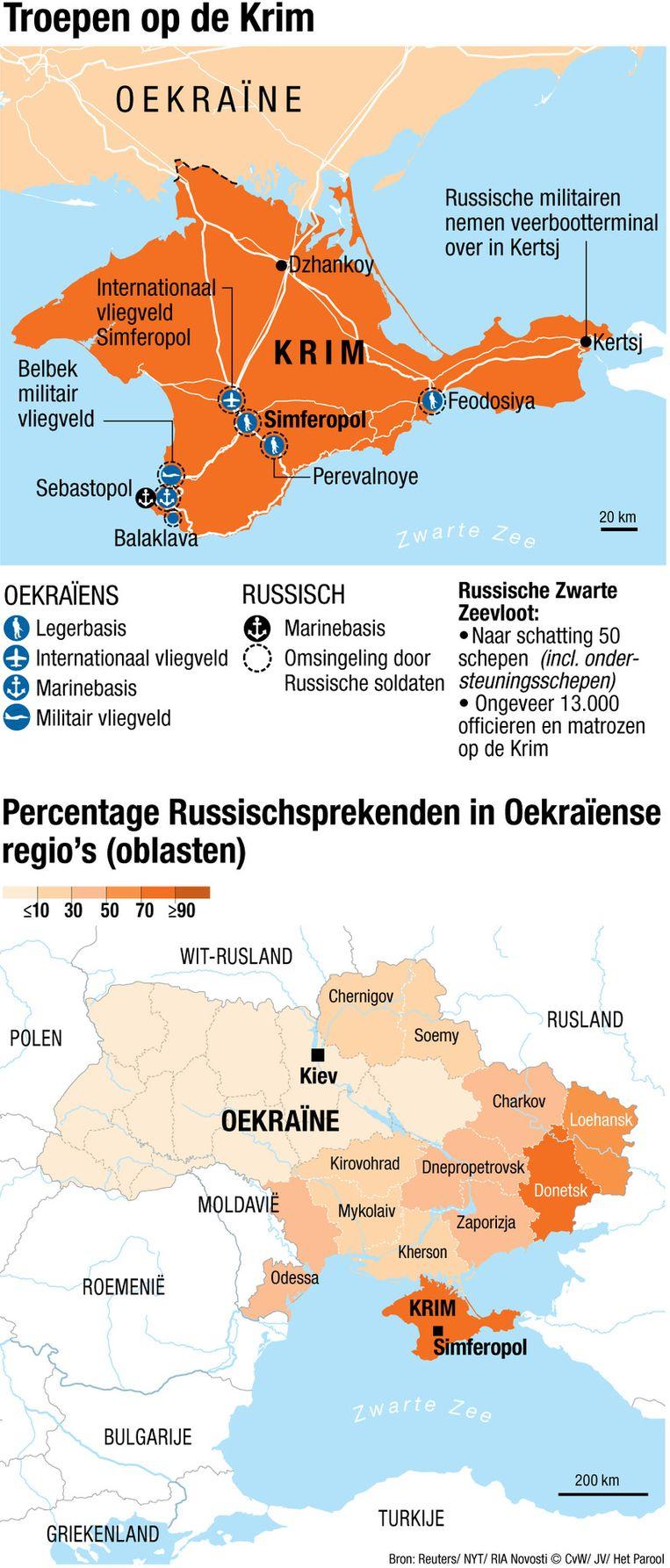 Troepen op de Krim Beeld Chantal Wessel en Jorris Verboon