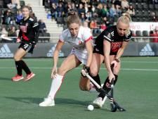 Hockeysters Oranje-Rood pakken verdiend punt in Amsterdam