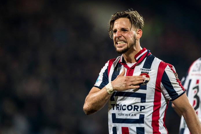 Fran Sol bedankte afgelopen donderdag de fans van Willem II.
