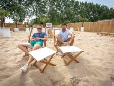 Pop-up beachbar in Goes gaat zaterdagavond open