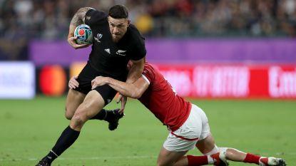 Titelverdediger Nieuw-Zeeland verplettert Canada op WK rugby, ook Frankrijk wint