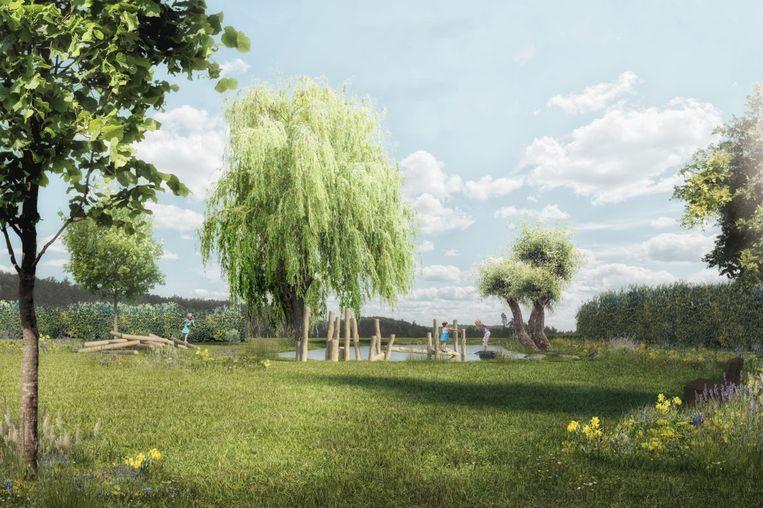 De site Patmoes krijgt een groot park, met onder andere een speelbos.