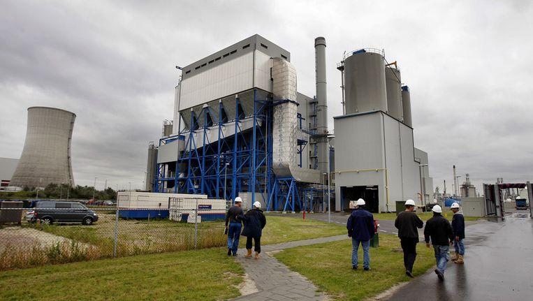 De biomassacentrale in Moerdijk. Beeld anp