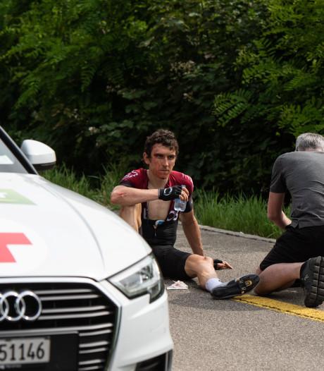 Le message rassurant de Geraint Thomas après sa chute au Tour de Suisse
