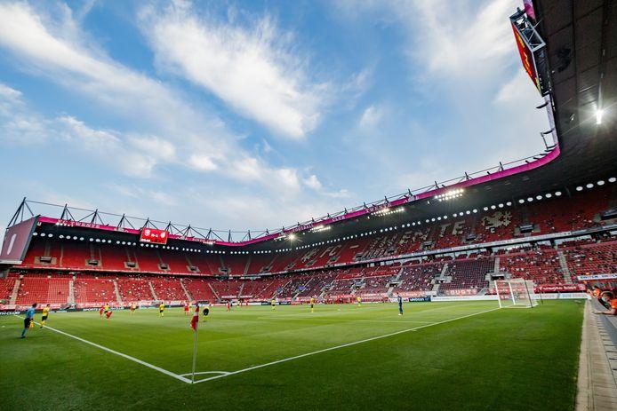 De Grolsch Veste maandagavond tijdens de wedstrijd FC Twente-Fortuna Sittard.