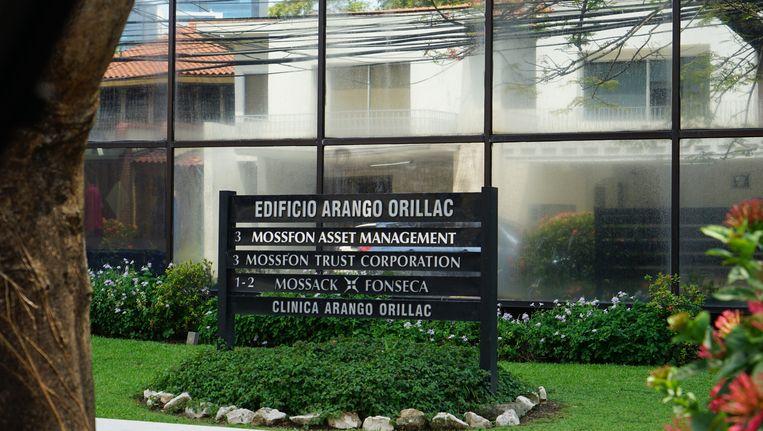 De gevel van het kantoor van Mossack Fonseca.