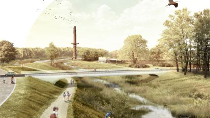 """Ambitieus plan voor groene corridor door centrum: """"Laatste stuk open ruimte tussen de lintbebouwing"""""""