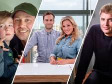 Maarten van der Weijden en vlogfamilie de Bakkertjes in De Ochtend Show to go