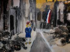 Meisje met kinderwagen voor Doetinchems inferno