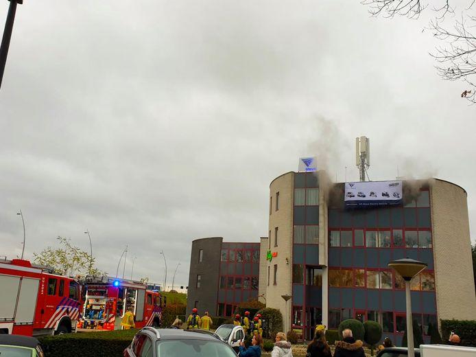 Brand in Veldhoven.