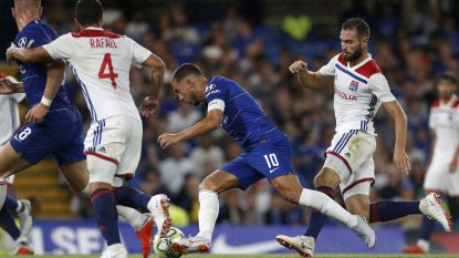 Kapitein Eden: Hazard draagt voor het eerst aanvoerdersband bij Chelsea (en bezorgt 'Blues' meteen zege in laatste oefenduel)