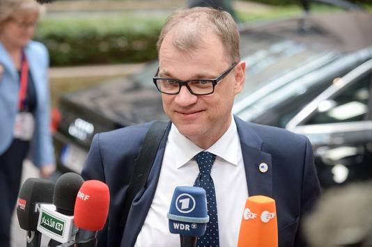 De Finse premier Juha Sipilä.