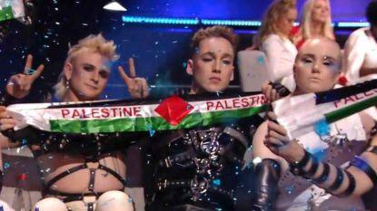 IJsland schokt Israël met Palestijns sjaaltje