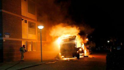 """Vrachtwagen met xtc-afval vat vlam  in woonwijk: """"Dit is gestoord!"""""""