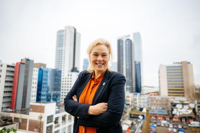 Marjan van der Haar is optimistisch over de opzet van het vijftigste IFFR: 'We gaan er het beste van maken.'