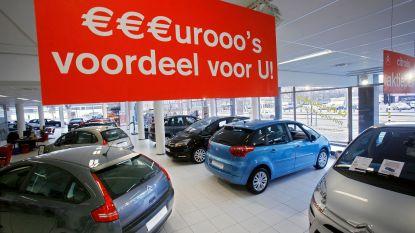 10 procent minder auto's verkocht in januari