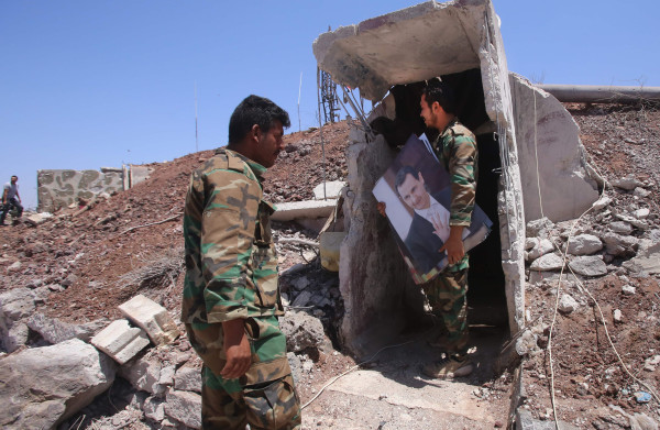 **Rebellen geven zuidwesten Syrië op, na bliksemoperatie Assad**