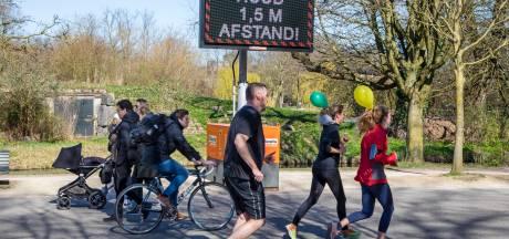 Amersfoort maakt fiets- en wandelpaden 'coronaproof'