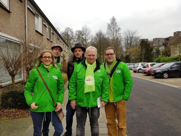 2,5 jaar geleden was Rob van Otterdijk de lijsttrekker van GroenLinks. Rechts huidig fractievoorzitter Niek Engbers.