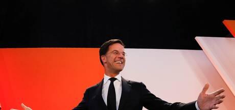 VVD opnieuw de grootste, PvdA lijdt historische nederlaag