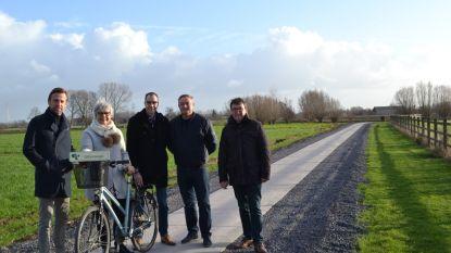 Olifantwegel in Nieuwenhove in nieuw jasje: veilige verbinding voor fietsers en voetgangers