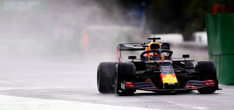 Verstappen zevende in glibberige ochtendtraining, Leclerc het snelst