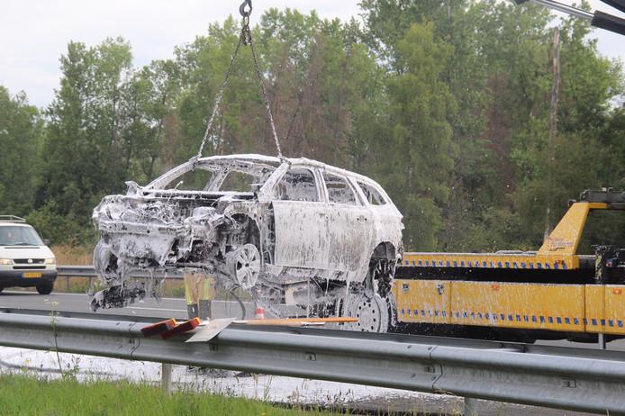 Ongeval op de A2 bij Best.