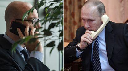 Charles Michel en Poetin plegen telefoontje over Libisch conflict, Iran en onafhankelijkheid van Oekraïne