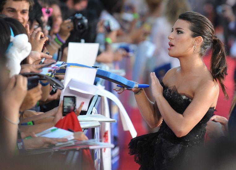 Lea Michele is verdwenen van Twitter.