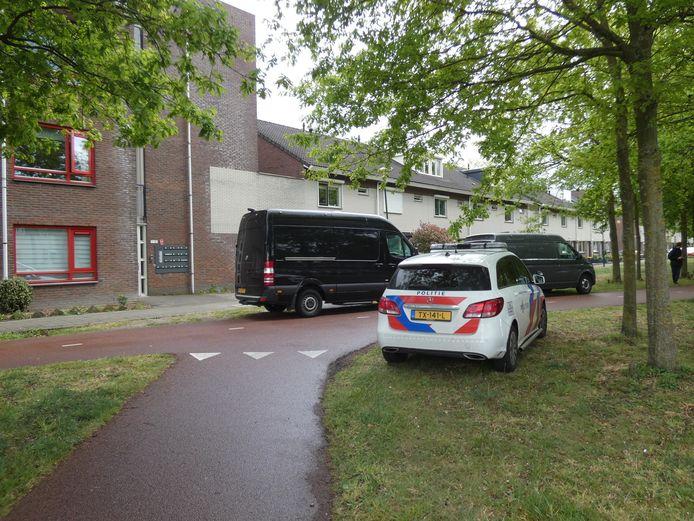 In een woning aan de Honingzwam in Veenendaal werd volgens het Openbaar Ministerie drugs gemaakt, maar op beperkte schaal.