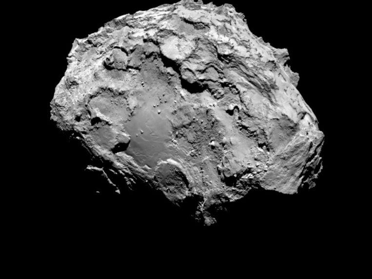 Komeet 67P/Tsjoerjoemov-Gerasimenko waar de ruimtesonde is geland. Beeld anp