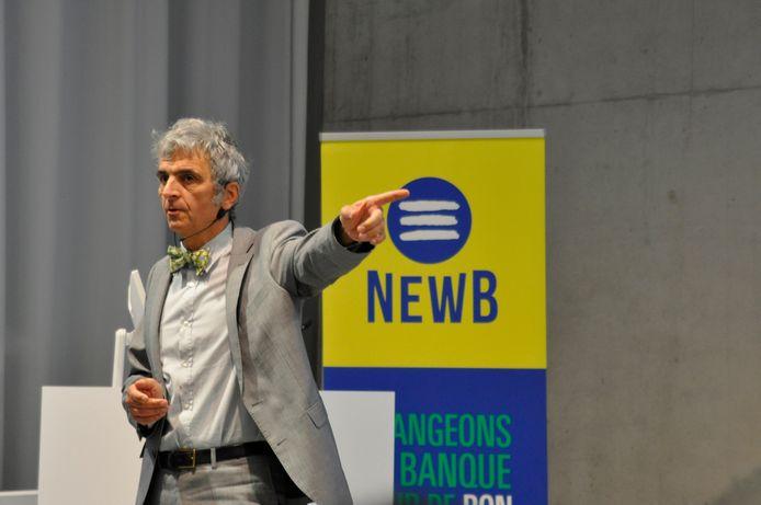Bernard Bayot, président de NewB