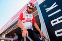 Thomas De Gendt voor de openingsetappe in de Ronde van Catalonië.