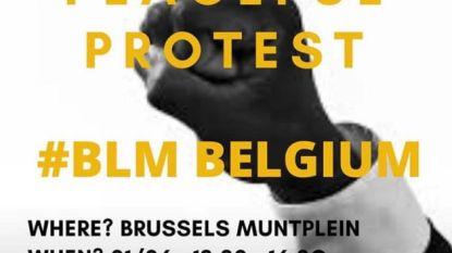 #BlackLivesMatter-protest in Brussel gaat maandag niet door omwille van schending coronamaatregelen