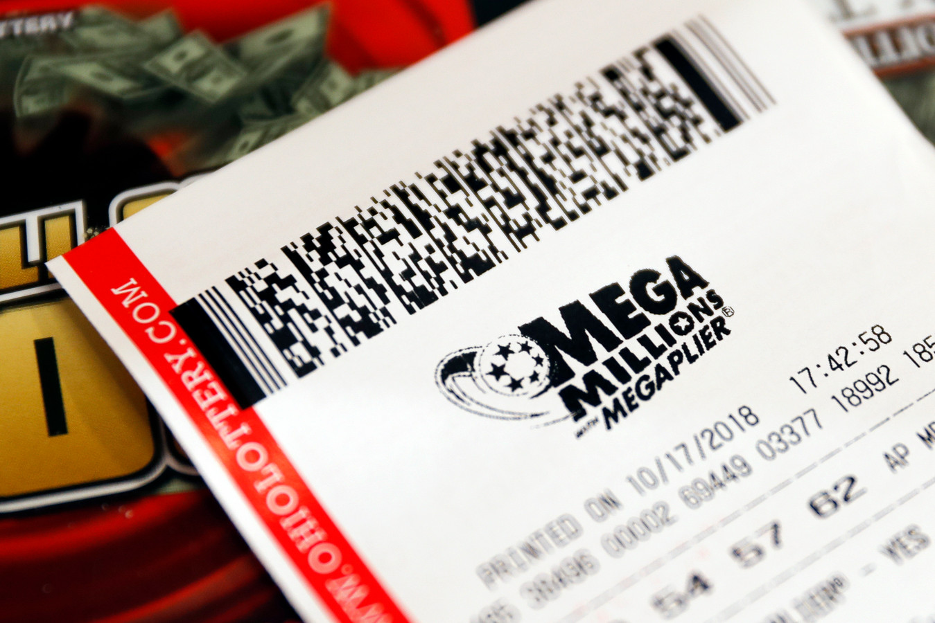 Een Mega Millions-biljet van één dollar leverde Rich Zelasko 30 miljoen dollar op. Tot nu dus...