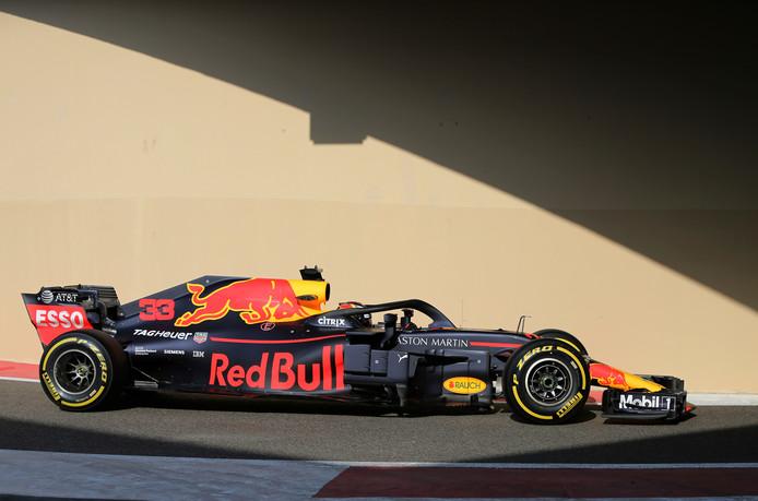 Verstappen Rijdt Laatste Rondjes In Rb14 Tijdens Testdag Formule 1