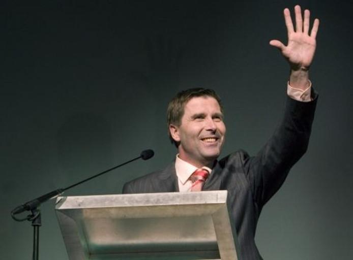 Ook partijvoorzitter Peter van Heeswijk van het CDA geeft er na de verkiezingsnederlaag de brui aan. ANP