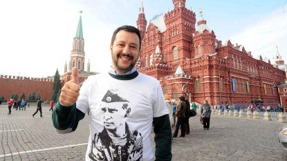 Poetin en Salvini bekokstoofden schenking van miljoenen