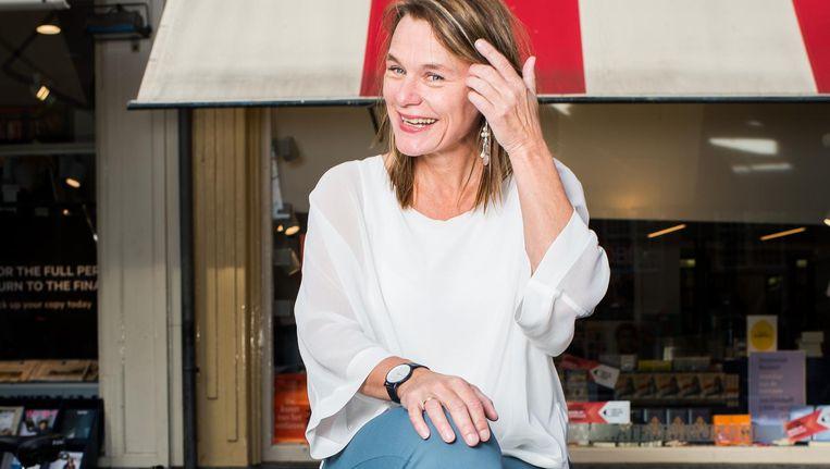 Caroline Reeders: 'Ik weet in welk seizoen ik waar in de Westerkerk moet zitten voor de mooiste lichtinval' Beeld Mats van Soolingen