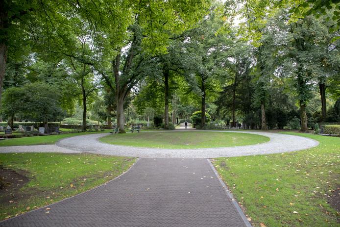 De Wageningse begraafplaats.
