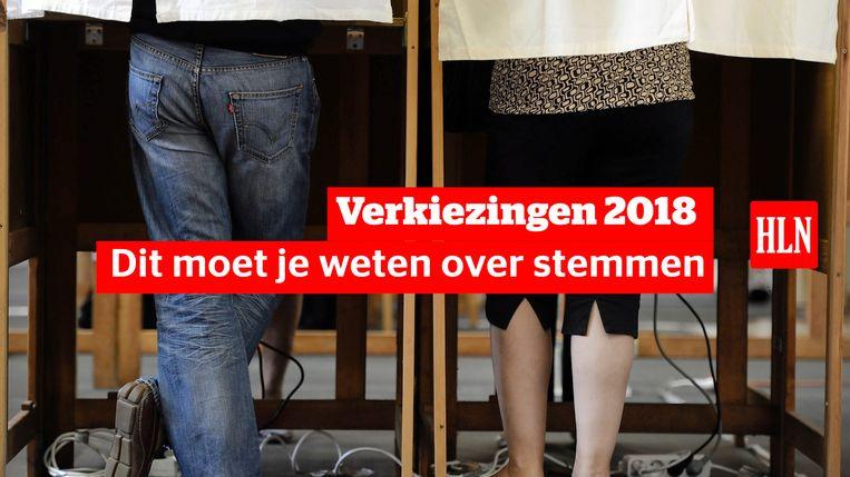 Verkiezingen 2018: dit moet je weten over stemmen.
